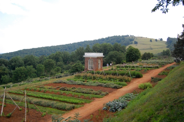 Monticello, Terrace Vegetable Garden. *Photo Credit: Southern Foodways Alliance, Creative Commons